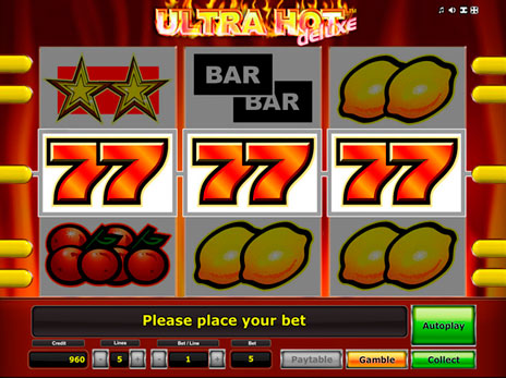 Sizzling Hot Casino Games